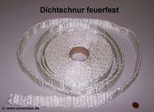 Dichtschnur feuerfest 3 m Dichtband Ofen Heizkessel Kaminschnur Ofentür Rahmen