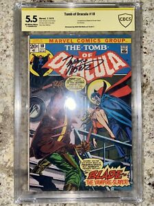 Tomb of Dracula #10 (Jul 1973, Marvel) Signed By Marv Wolfman