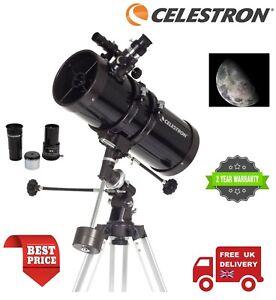 Celestron 127EQ PowerSeeker Reflector Telescope 21049 (UK Stock)