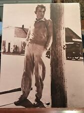 "Black & White James Dean Picture Without Frame 11""x14""  Famous Celebrity"
