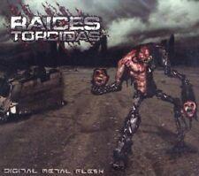 "Raices Torcidas ""Digital Metal Flesh"" DIGI CD+DVD [EL SALVADOR TECHNICAL DEATH]"