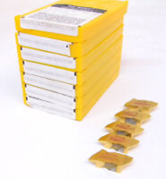 "35 New Kennametal Top Notch Grooving Carbide Inserts, Size 4, .117""+/- Groove"