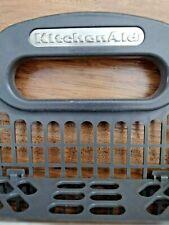 "New listing KitchenAid Oe Dishwasher Silverware Basket Gray 19.5""wide x 9.5"" high x 4"" deep"