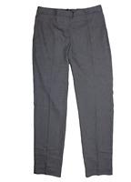 Mario Serrani Womens Comfort Stretch Slim Fit Pants (Mini Check, 8)