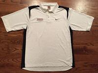 Minnesota Golden Gophers Basketball Vintage Nike Team Polo Shirt Men's Large