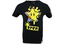NINTENDO - Mario X Splatoon 35th Anniversary Black Unisex T-Shirt- BNIP - Medium