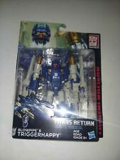 Hasbro Transformers Titans Return W1/17 Deluxe Blowpipe & Triggerhappy Summer !