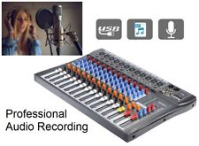 12 Channels Professional Live Studio Audio Mixer Mixing Console MP3 USB 48V 12CH