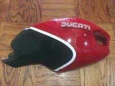 Ducati Monster 1100 796 696 Gloss Red & Green Tank Right Side Cover Fairing.