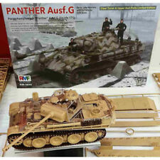 Rye Field Model 5016 Panther Ausf.G w/Full Interior (Clear Edition) 1/35