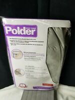 Polder Replacement Ironing Board Pad & Cover Set Metallic Silver SZ 43 x 13 New