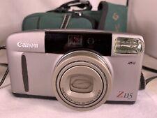 Canon Sure Shot Z115 Caption 38-115mm Point & Shoot Film Camera (Poss Broken)