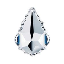 Set of 5 - 50 mm Clear, Swarovski Chandelier Crystal Parts  Pendeloque 1 Hole