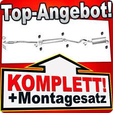Mittelrohr Opel Astra H 1.7 CDTI GTC Auspuff Mitteltopf 81//92KW