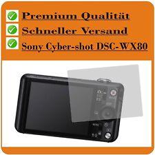 2x Sony Cybershot DSC-WX80 testsieg Film Protecteur d'Écran de d'ecran