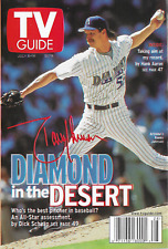 2000 TV Guide - Randy Johnson - Greatest Detectives - Aaron - McGwire - Griffey