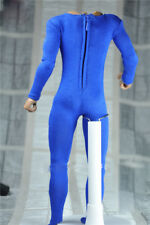 "1:6th 12"" Action figures Doll Toy Accessory Blue Elastic bodysuit For Male Body"