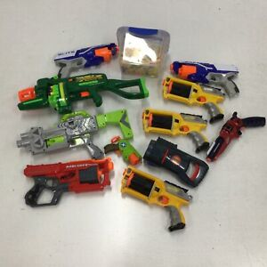 Assorted Bulk Nerf Toys Untested Parts Only & Accessories #604