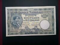 Banknote, Belgium,1929(VF)100 francs.Great condition.