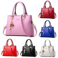 Women Leather Handbags Shoulder Bags Tote Purse Messenger Satchel Crossbody
