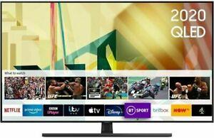 "2020 NEW Samsung QE55Q70T+ 55"" 4K Ultra HD Smart QLED TV HDR10"