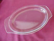 Hostess heated side server replacement dish lid the latest rugby ball shape