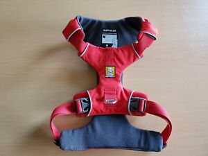 RUFFWEAR FRONT RANGE DOG HARNESS PADDED EASY ON/OFF RED X SMALL