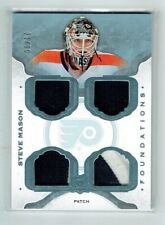 14-15 UD The Cup Foundations  Steve Mason  /10  Quad Patches