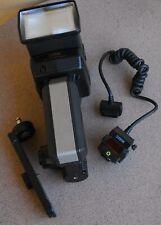 Sunpak Super 622 Handle Flash Strobe w Zoom Head Bracket Nikon NE-1AF module