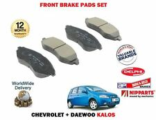 FOR CHEVROLET DAEWOO KALOS 1.2 1.4 2003  NEW FRONT BRAKE DISC PADS SET