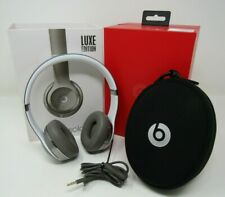 BEATS BY DR. DRE LUXE EDITION HEADPHONES BEATS SOLO 2 IN BOX HEAD PHONES GREAT C