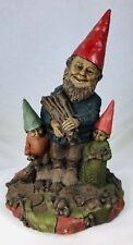 Tom Clark Gnome Brother, Sis & Dad #1181 Edition #76 Cairn Studios Coa 10""