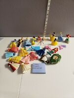 Vintage Disney Princess Mini Dress Up Doll Lot