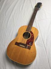 Vintage 1964 Epiphone FT85 12 Cuerdas Guitarra Acústica Gibson Usa Kalamazoo hecho!