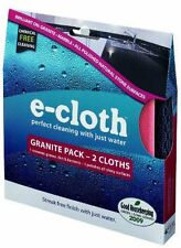 E-cloth Granite e lucidatura panno Pack - 2 tele-Gratis P&P