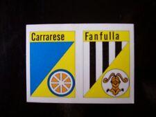 FIGURINA CALCIO FLASH 84 SCUDETTI CARRARESE FANFULLA ( X5-24)