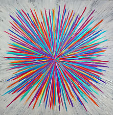 Abstraktes Gemälde Unikat Moderne Kunst Leinwand Acryl Bild Malerei