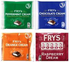 4 x Fry's Chocolate Selection Chocolate Orange Peppermint & Raspberry Cream 147g