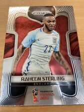 2018 World Cup Prizm Raheem Sterling Base Card England
