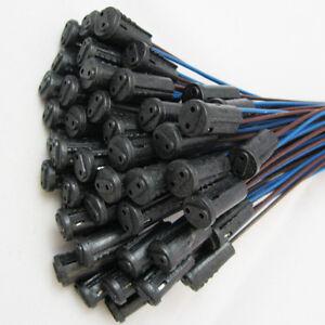 10x G4 Base Holder Wire Adapter Halogen Socket Connector f. Bulb Lamp LED JF Fn