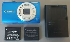 CANON POWERSHOT A4000 IS 16.0MP DIGITAL CAMERA TESTED! W/ CHARGER +XTRA BATTERY!
