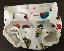 Nicki's Diapers Baby Doll Cloth Diaper Toy Only Hook and Loop Closure Owls Woods