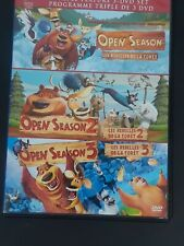 Open Season 3 Movie Collection (DVD, 2013, Canadian)