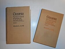 Oceania, The Native Cultures of Australia and the Pacific Islands 1989 2-Volumes
