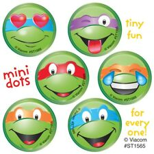 Teenage Mutant Ninja Turtle Stickers 48 Dots Birthday Supplies TMNT Party Emoji
