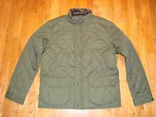 NWT $249 Polo Ralph Lauren Men's Quilted Jacket Olive Size: XL