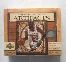2007-08 Upper Deck Artifacts Basketball Sealed Hobby Box Kevin Durant RC HTF