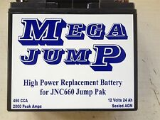 JUMP N CARRY 660 UPGRADED REPLACEMENT HI POWER BATTERY ALSO FITS JNC4000