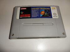 Super Nintendo SNES  Wing Commander - The Secret Missions