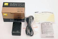 Nikon MH-18a chargeur de batterie EN-EL3 EN-EL3a